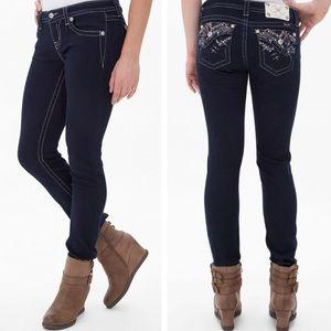 MissMe Mid-Rise Easy Skinny Jean